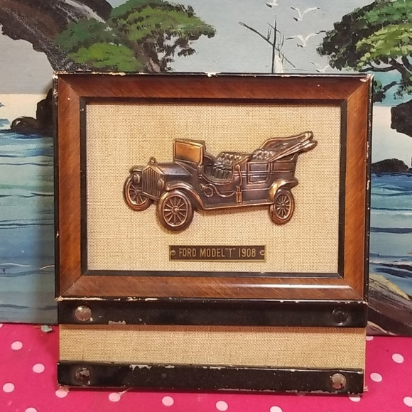 Vintage Ford 1908 bronze 3D replica  model T